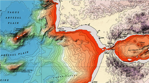 Sea Floor Sunday 7 Bathymetry Of Northeastern Atlantic Ocean