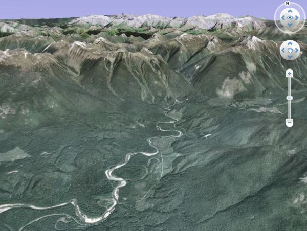 image from GoogleEarth
