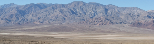 Alluvial fans, Death Valley, CA ()