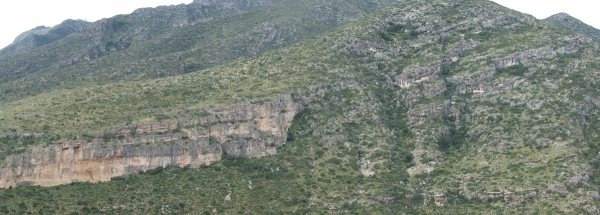 Permian strata in McKittrick Canyon, Guadalupe Mtns Nat'l Park (© 2008 clasticdetritus.com)