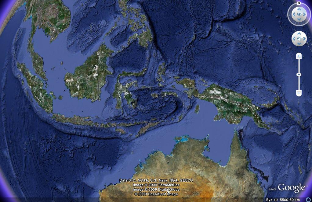 Sea Floor Elevation Data : Sea floor sunday improved bathymetry data in google
