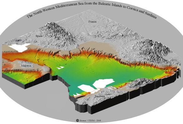 Sea Floor Sunday 41 Bathymetric Map Of Mediterranean Sea Clastic