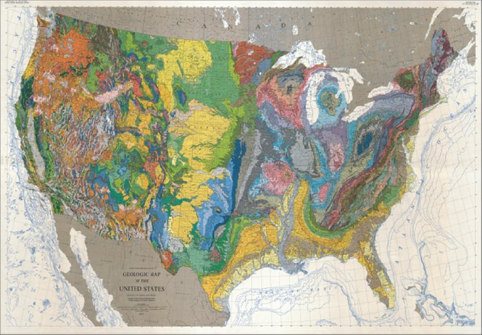 Maps of ecosystems and geology of the United States | WIRED
